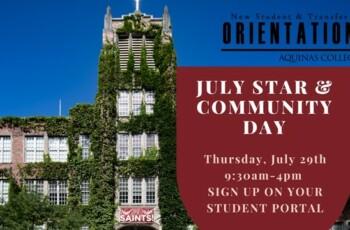 July STAR & Community Day